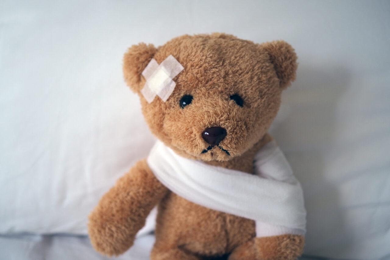 injured infant