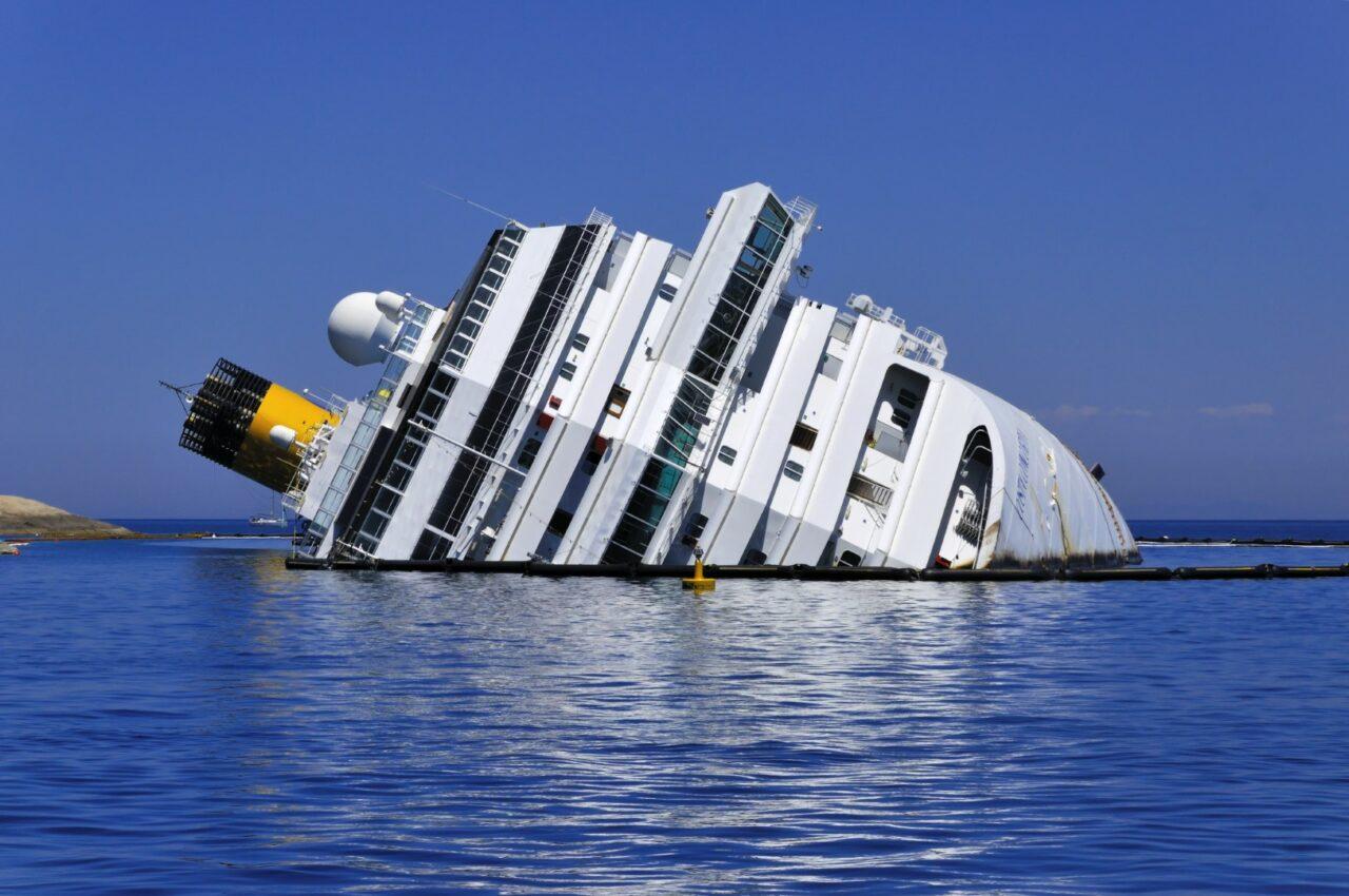 Nave Concordia affondata