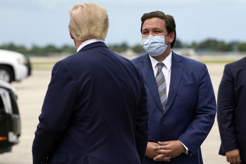 Trump DeSantis
