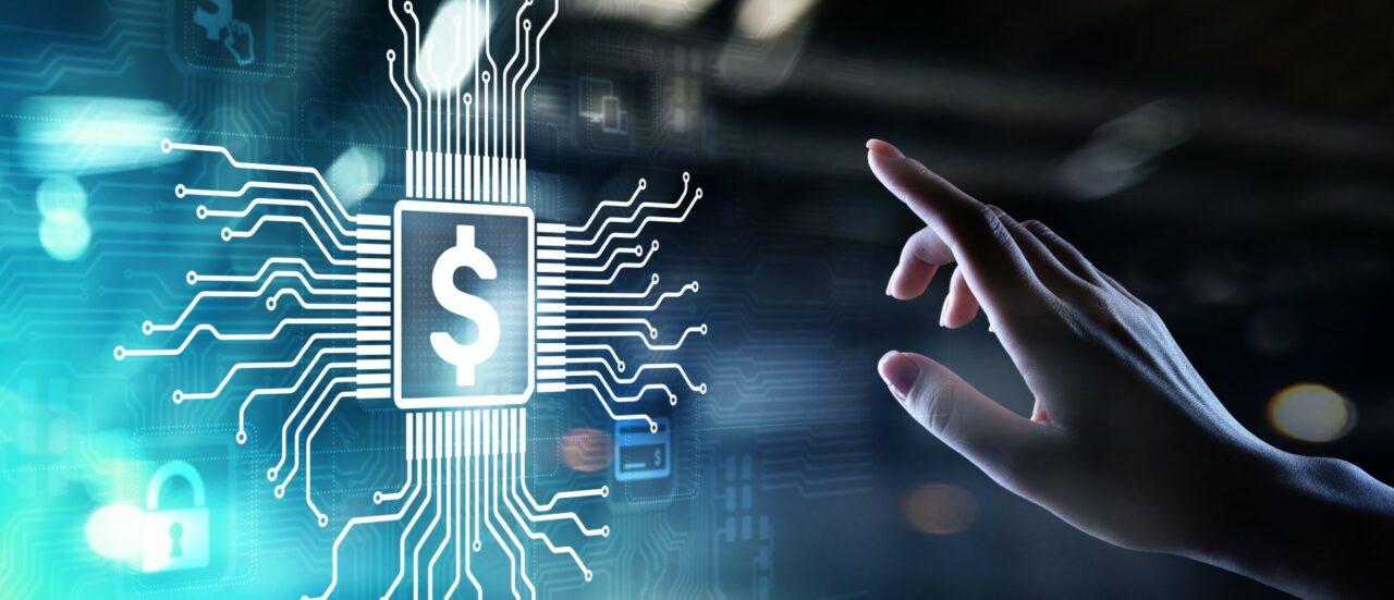 Banking DIgital Online Internet payment and financial technology FIntech concept.