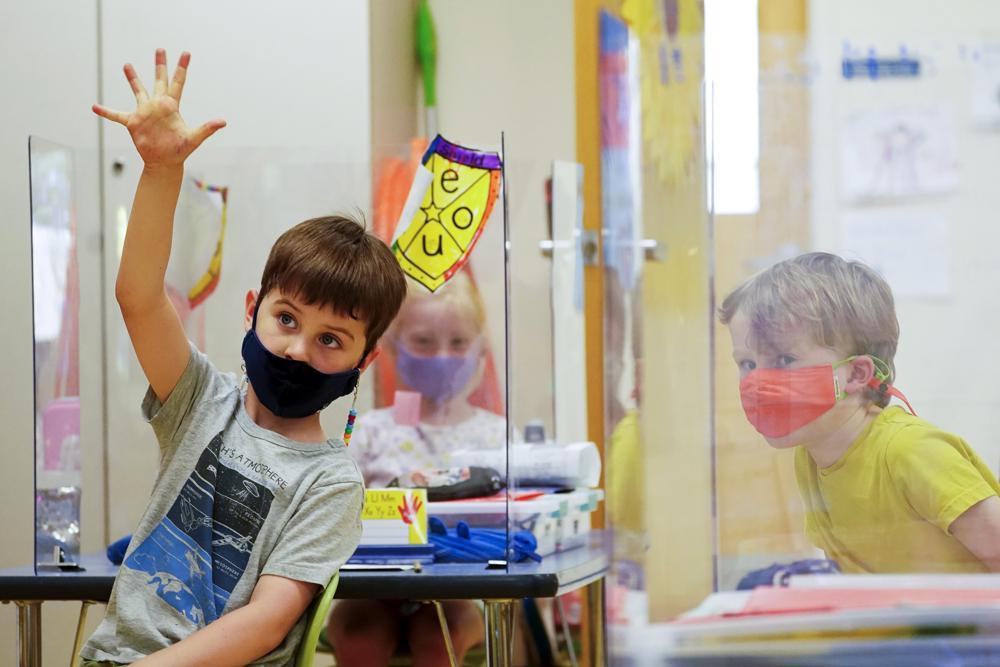 kindergarten students COVID-19 coronavirus