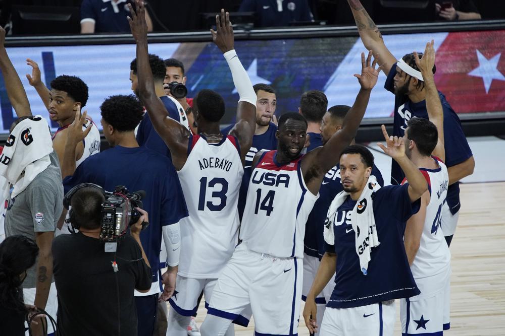 USA basketball Olympics