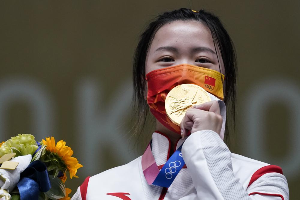 olympics gold