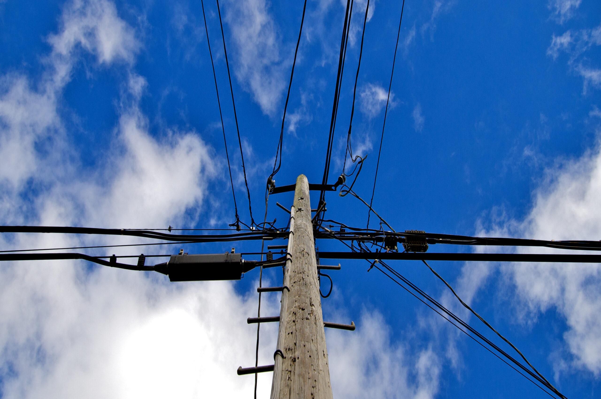 utility poles scaled