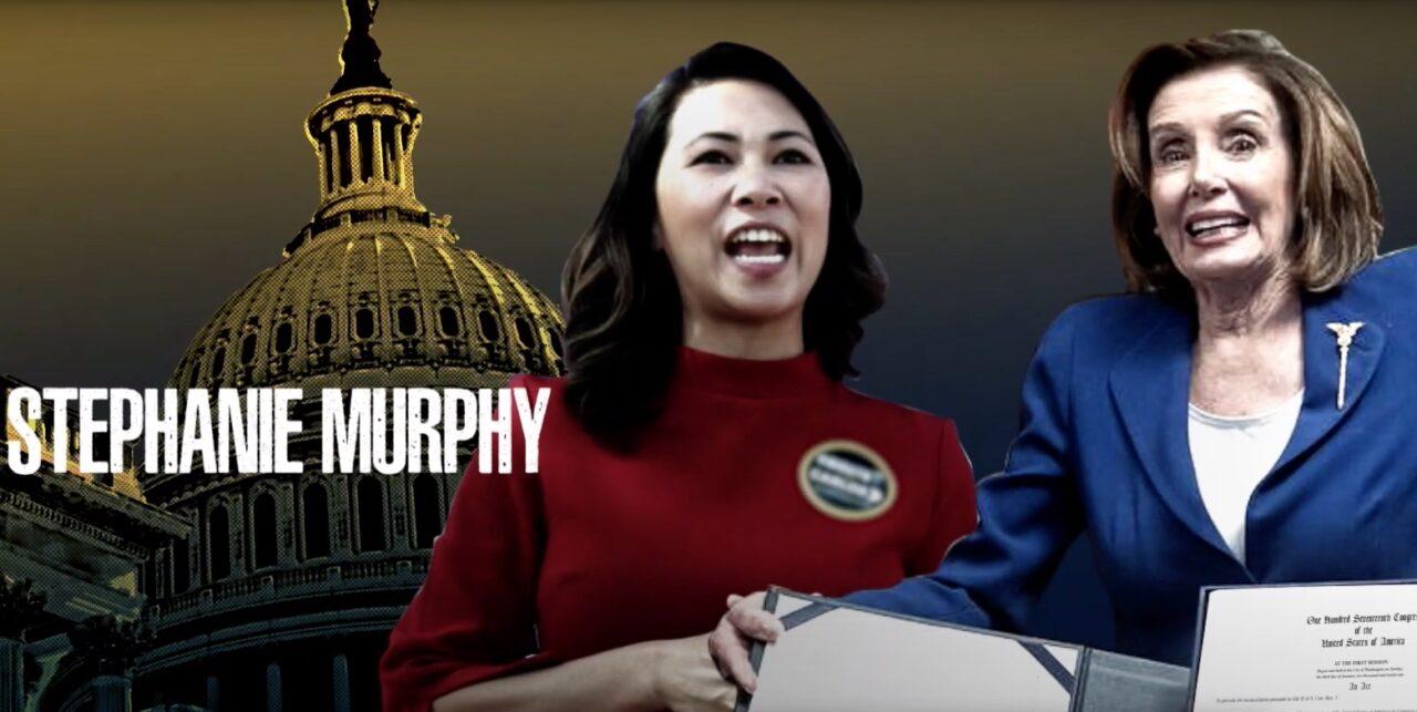 Stephanie Murphy and Nancy Pelosi
