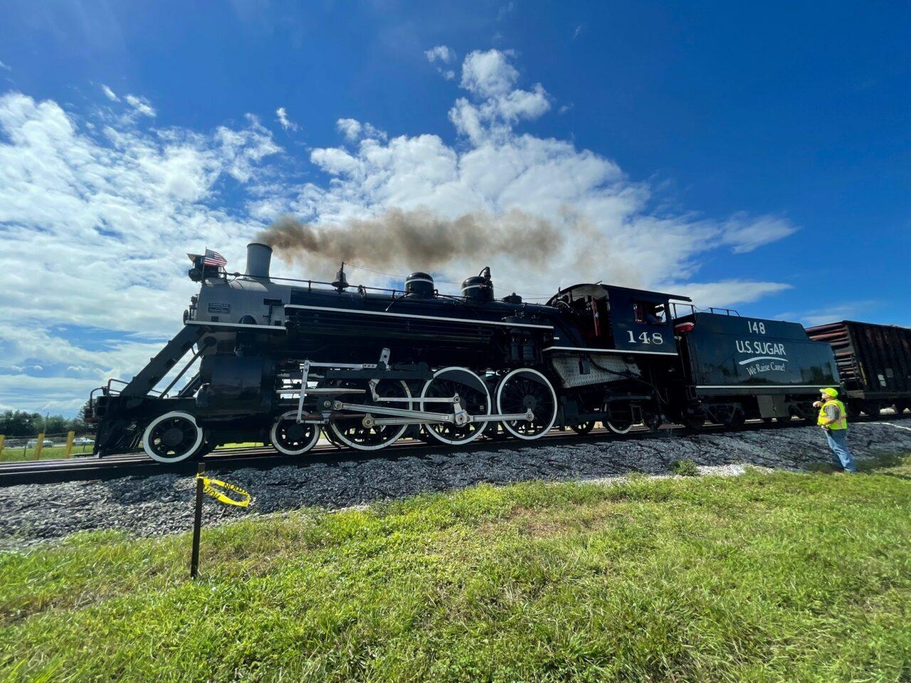 U.S. Sugar locomotive No. 148