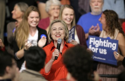 Hillary Clinton to campaign in Florida on Monday