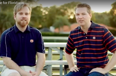 Florida's 'Auburn tag' over halfway to required pledges