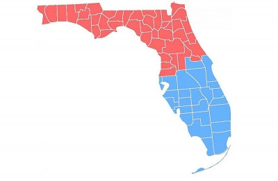 Juice would be spilled: Imagining 2 Floridas, South and North